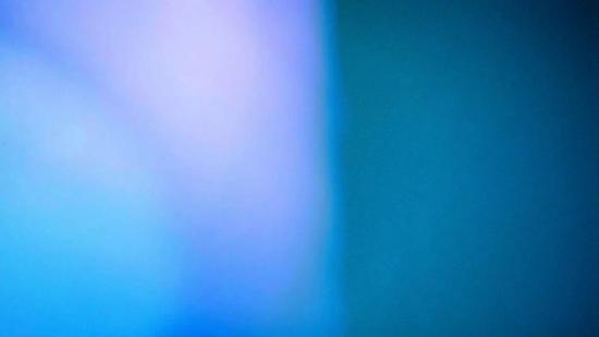 蓝色漏光视频