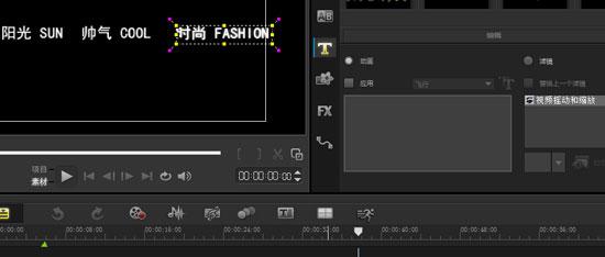 添加视频摇动和缩放滤镜