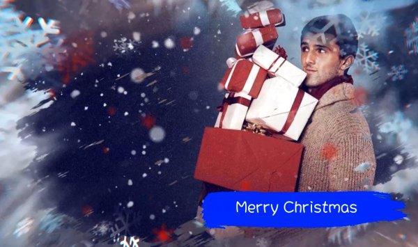 圣诞节小清新视频