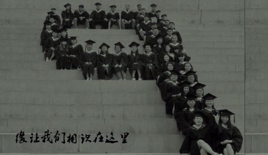 大学毕业照电子相册模板