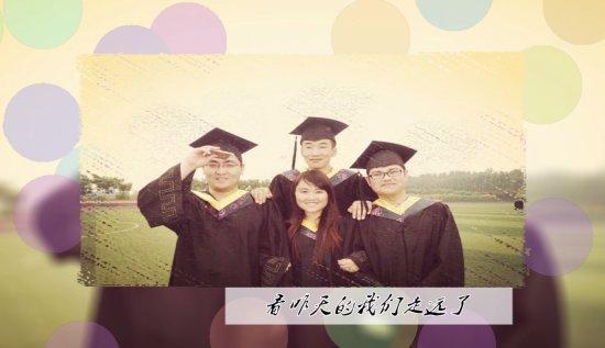 大学纪念毕业季模板