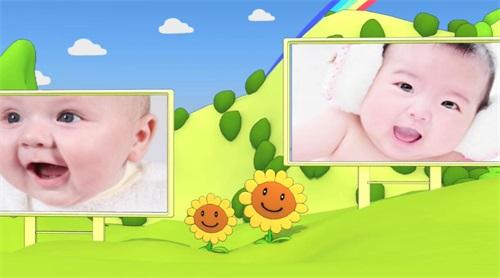 儿童生日视频效果1