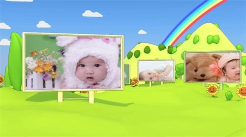 儿童生日视频效果2