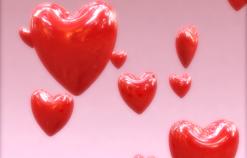 红色爱心视频素材
