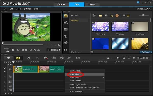 会声会影x7-如何制作视频转场特效