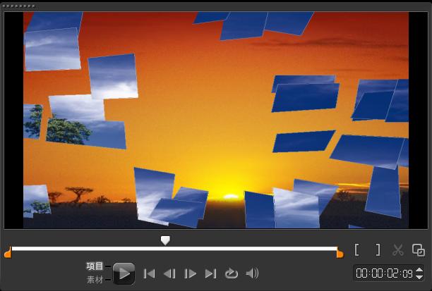 如何制作视频打碎转场,知道吗?,我学会声会影