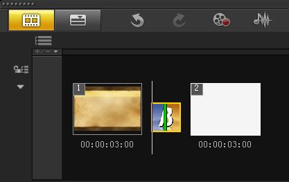 如何制作视频单向转动转场5