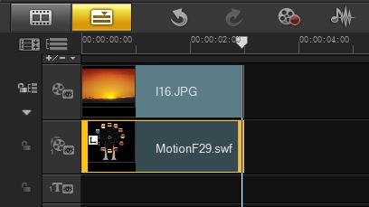 如何制作视频Flash覆叠4