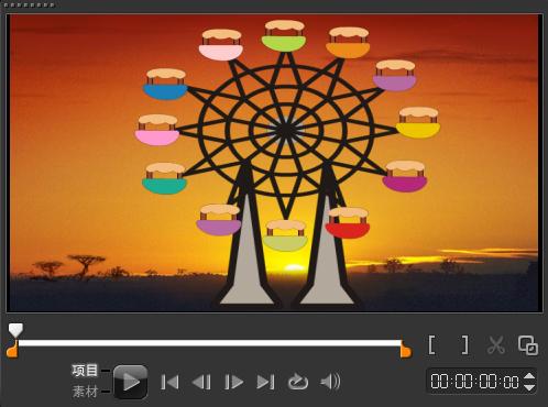 如何制作视频Flash覆叠5