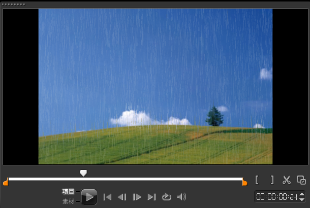 """滤镜精彩实例 - """"雨点""""滤镜5"""