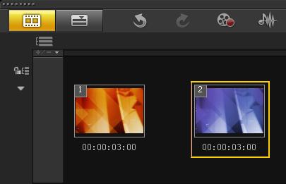如何制作视频扭曲转场1