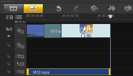"<span class=""keywords"">编辑视频</span>时如何通过调节整个音频来改变音量"