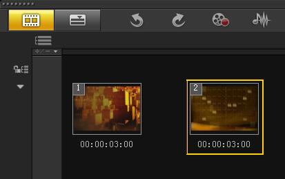 如何制作视频旋转转场1