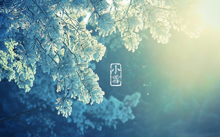 节气之小雪