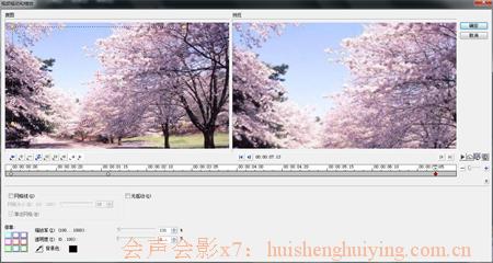 视频缩放与摇动滤镜