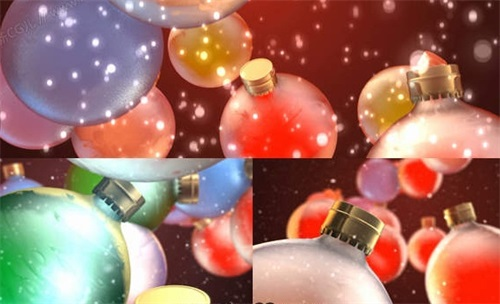 圣诞视频素材分享