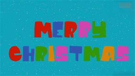 圣诞快乐字幕