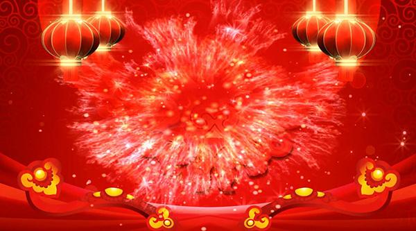 红色灯笼背景视频