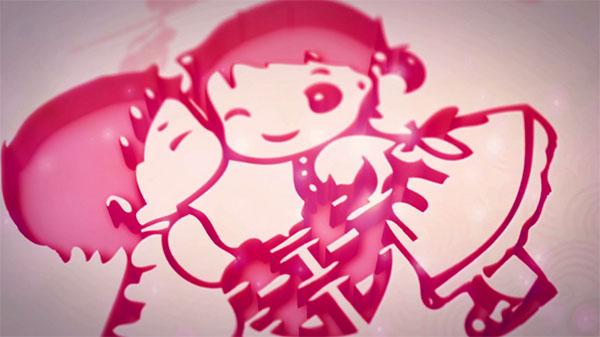 中国风主题婚礼开场片头模板