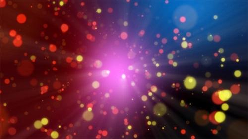 动态粒子背景素材1