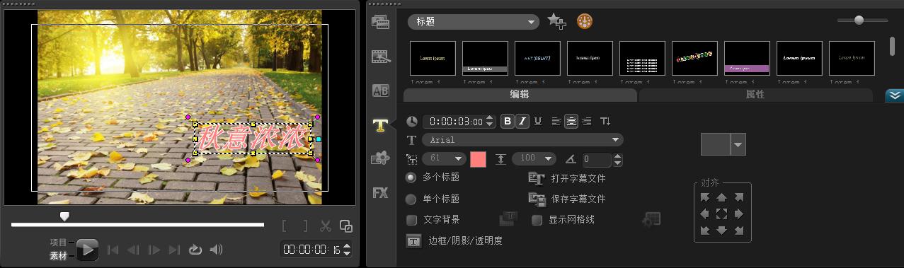 视频滤镜添加