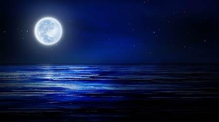 中秋月亮素材