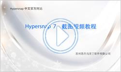 HyperSnap使用视频教程