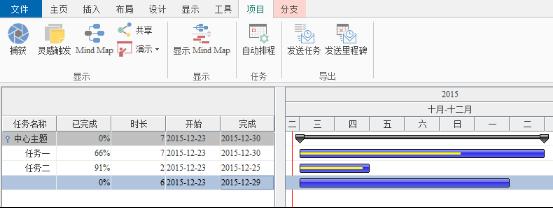 iMindMap项目管理
