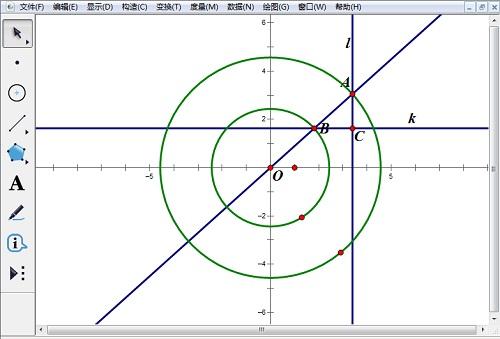 构造直线和交点