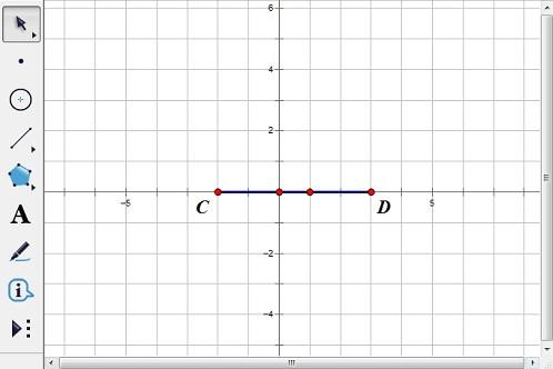 绘制点C、D并构造线段CD