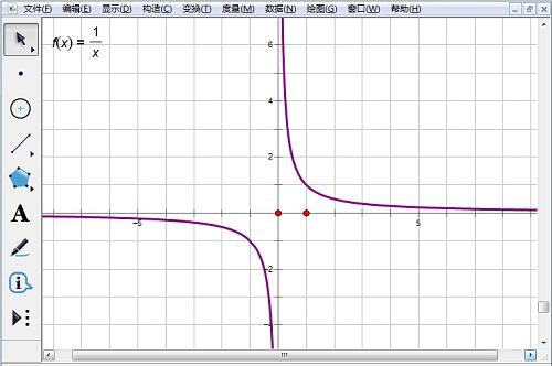 畫確定的反比例函數