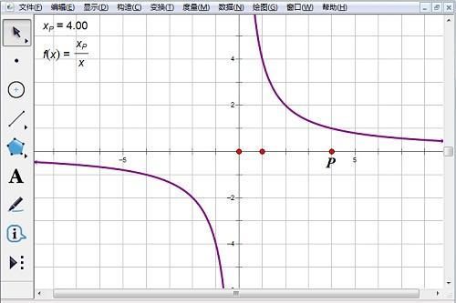 畫可變的反比例函數