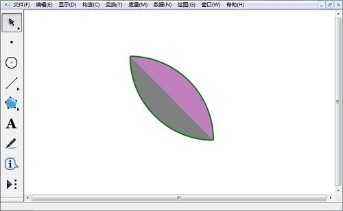 几何画板花瓣图形