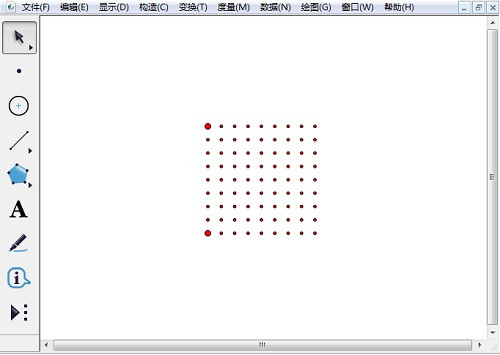 绘制8单元点阵