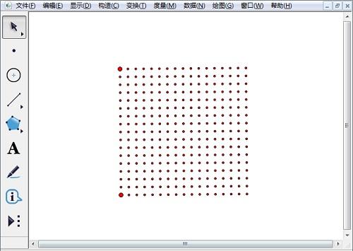 绘制16单元点阵