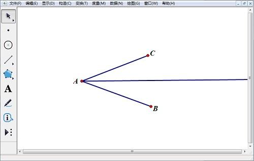 几何画板构造角平分线