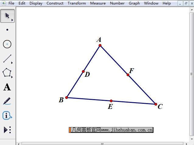 构造三角形三边中点