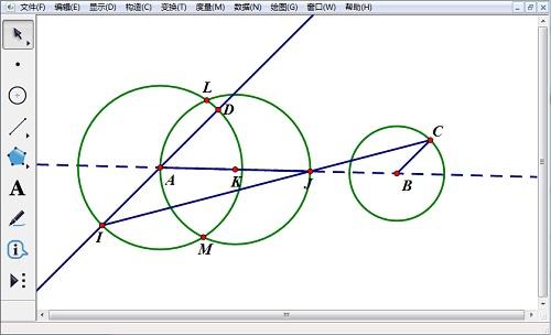 构造圆和交点