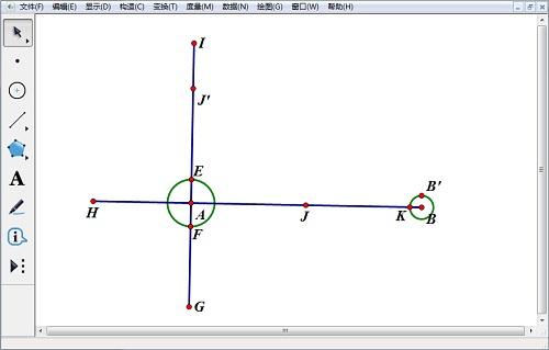 構造變換點與圓