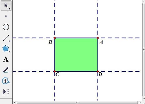 构造矩形ABCD