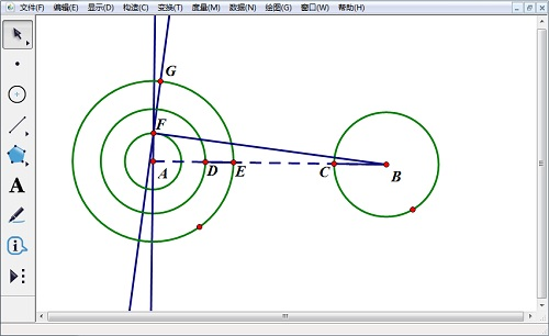 构造线段BF的垂线