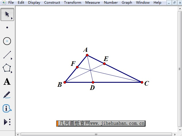 绘制内角平分线