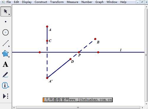 构造点C、D
