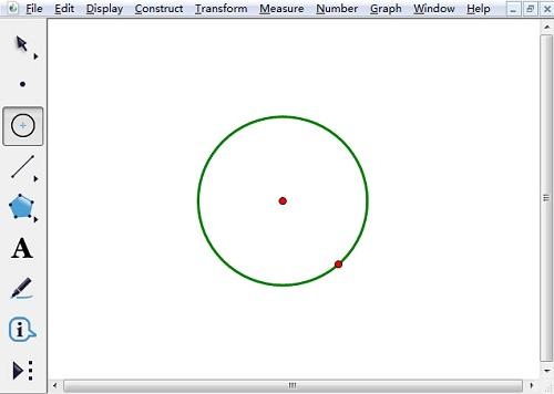 几何画板绘制圆