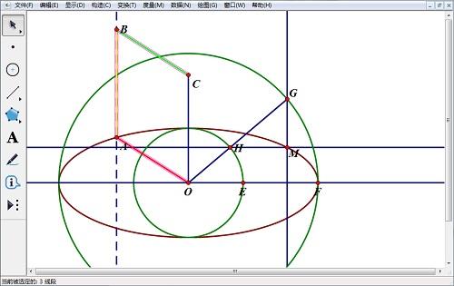 几何画板更改线型