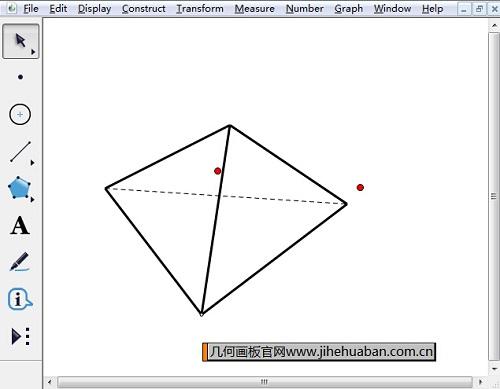 绘制正四面体