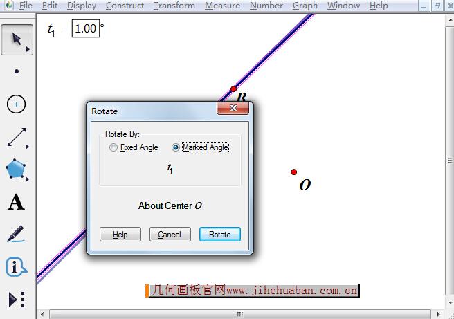 以旋转角度参数为中心