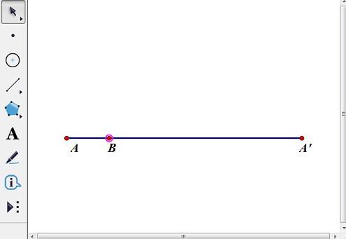 構造線段AA'并取點B