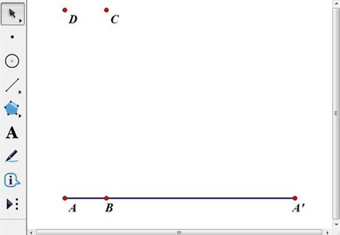 平移點C得到點D