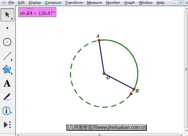 度量弧度角